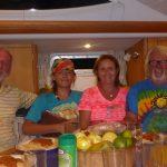 Kaziu Bichler z rodzina z wizyta na Shanties1